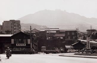 규슈 급행 버스 나가사키 영업소 부근