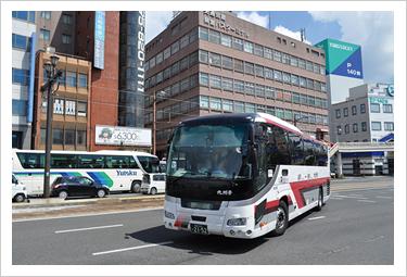 현재의 규슈 급행 버스